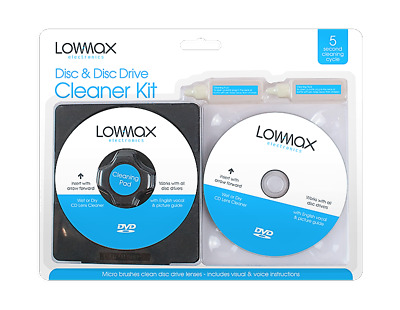 £3.49 • Buy Laser Lens Cleaner Cleaning Kit For PS3 XBOX 360 BLU RAY DVD PLAYER CD DISC New