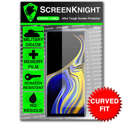 $ CDN7.04 • Buy ScreenKnight Samsung Galaxy Note 9 / IX FRONT SCREEN PROTECTOR - CURVED FIT