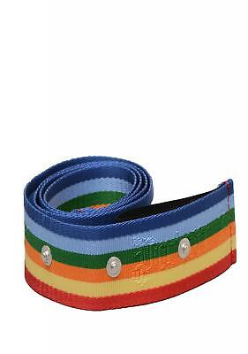 Palm Angels Mens Rainbow Belt In Multicoloured RRP 165 -  100% AUTHENTIC PRODUCT • 79.99£