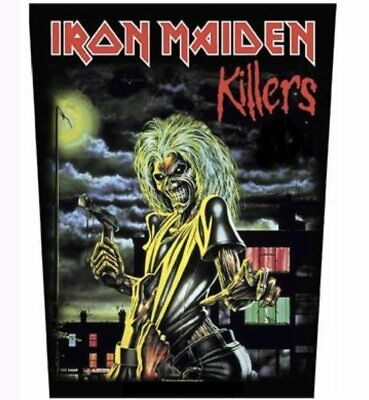 £7.99 • Buy Iron Maiden Official Back Patch Backpatch Killers