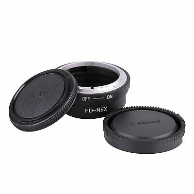 $ CDN12.47 • Buy Canon FD Lens To Sony E-Mount A6000 A5000 A7R NEX-5T A5100 Adapter With Caps