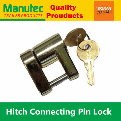 AU20.95 • Buy Manutec Trailer Hitch Connect Pin Lock Coupling Release Lever For Treg Pins UB
