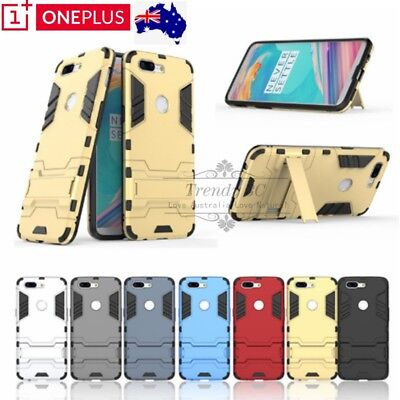 AU9.95 • Buy OnePlus 1+ 6 / 5T Shockproof Robot Heavy Duty Bumper Case Cover For Oneplus