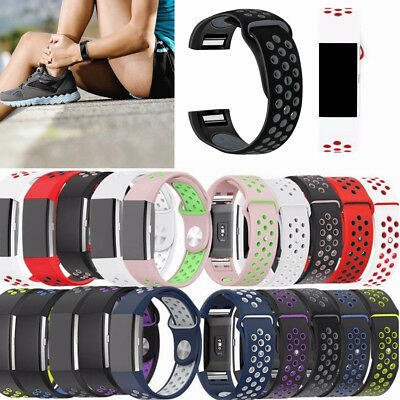 $ CDN4.93 • Buy Sports Watch Band Strap For Fitbit Charge 2 Silicone Bracelet Smart Wristbands