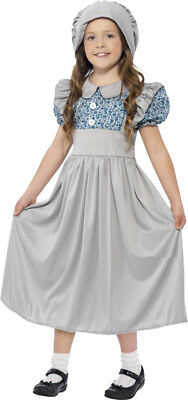 £14.99 • Buy Childrens Fancy Dress Party Book Week Victorian School Girls Costume Outfit