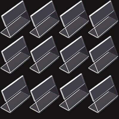 $9.99 • Buy 12pcs Tent Style Acrylic Table Numbers Wedding Restaurant Cafe Office Sign Stand