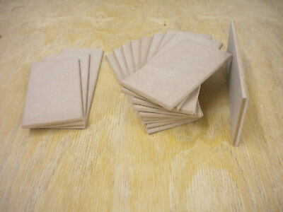 Wooden MDF Blank Plaques,With Or Without Holes 200 X 75,175 X 75,150 X 75 X 6mm • 3.50£