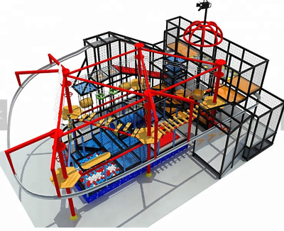 £2174801.61 • Buy 6,000 Sqft Commercial Zip Line Roap Course Playground Soft Play Zone We Finance