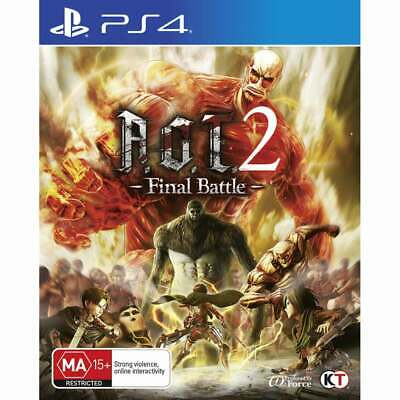AU42 • Buy Attack On Titan 2 (A.O.T) Wings Of Freedom - PS4 Playstation 4 Brand New Sealed