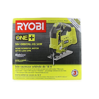 Ryobi  P5231 18V ONE+ Powerful Motor Orbital Jig Saw, Upgraded P523  Bare Tool • 65.82£