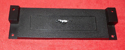 $89 • Buy 1969 1970 Mustang ORIG DASH CLOCK DELETE BLANKING PLATE PANEL Visibility Group