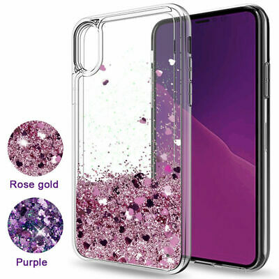 AU9.88 • Buy Glitter Liquid Case Floating Bling Sparkle Quicksand For OPPO A73 AX5 AX7 Reno Z