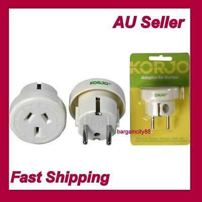 AU26.02 • Buy Travel Power Adapter Outlet AU/NZ Socket To Plug Asia EU Bali Thai Middle East