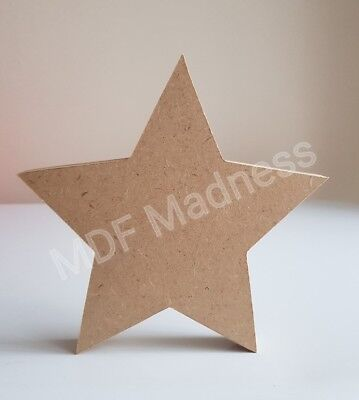Mdf Craft Shape. Wooden Star • 2£