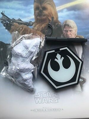 $ CDN30.30 • Buy Hot Toys MMS376 Star Wars Han Solo & Chewbacca 1/6 Han Solo Stand