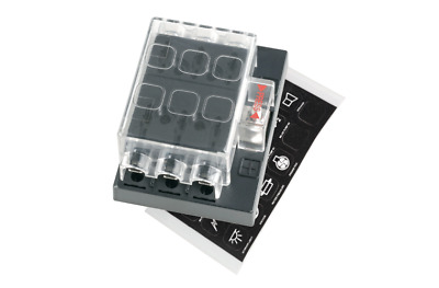 AU30.95 • Buy Narva Fuse Block ATS 6 Way With Cover 54431