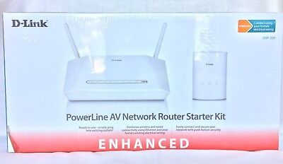 AU59.99 • Buy D-Link DHP-1321 PowerLine Network Router Starter Kit
