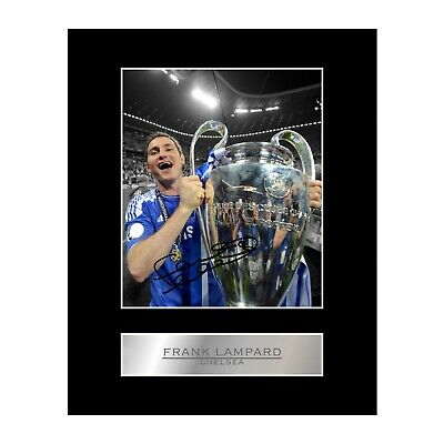 £6.99 • Buy Frank Lampard Signed Mounted Photo Display Chelsea FC