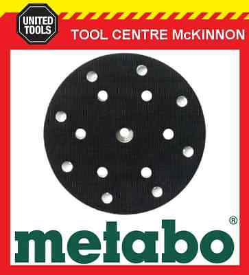 METABO SXE 450 DUO & TURBO TEC SANDER 150mm 6 Or 8 HOLE REPLACEMENT BASE / PAD • 44.45£