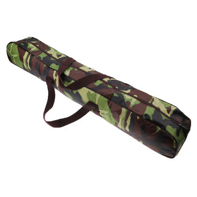 AU18.95 • Buy Storage Carry Bag For Camping Tent Pole Walking Stick Fishing Rod Camo 98cm