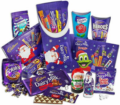£8.98 • Buy Cadbury Mega Christmas Chocolate Selected Box Tub Tin Advent Calendar Cake Bar