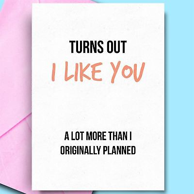 £2.95 • Buy Birthday Card For Wife Cheeky Card For Wife Adult Birthday Cards