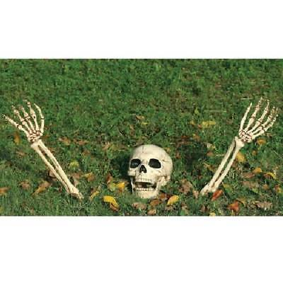 $9.95 • Buy Buried No More Skeleton Lawn Ornament Kit Halloween Prop Life Size Haunted House