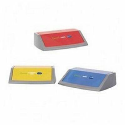 [Set Of 3] Addis Flip Top Bin Kit Lids In 3 Colours For Recycling 505575  • 21.95£