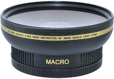 AU113.19 • Buy New 77mm HD Wide Angle Macro Lens For Nikon COOLPIX P1000 Digital Camera