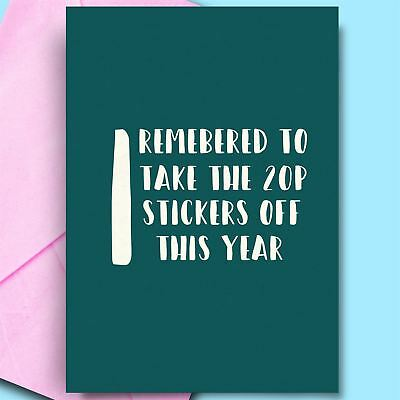 £2.95 • Buy Birthday Card For Husband Cheeky Adult Funny Cards For Fiance Hubby Partner