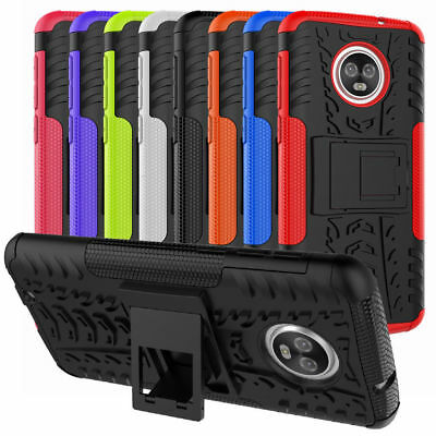 AU4.51 • Buy For Motorola Moto Phone Case Tough Armor Shockproof TPU Hard Stand Back Cover