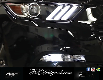 AU9.95 • Buy Ford Mustang 2015-2016 Bright White Parker Bulbs GT FM