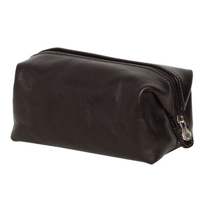 AU115 • Buy NEW The Uno Black Leather Toiletry Bag Men's By Republic Of Florence