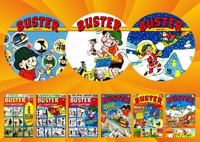 Buster Comic Weekly - Annuals - Specials On 3 DVD Rom's • 9.99£