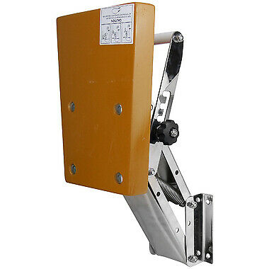 AU283.40 • Buy Outboard Motor Bracket Stainless Steel 50kg Max. S/S With Timber Board