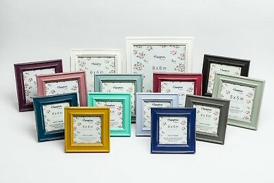 £8.59 • Buy Shabby Chic Instagram Square Rustic Distressed Wood Photo Picture Frame Colours