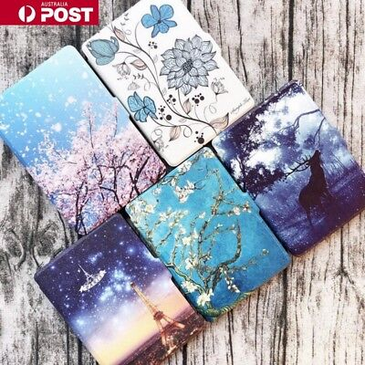 AU15.99 • Buy For Kindle Paperwhite 1/2/3 TPU Pattern Leather Galaxy Flip Pattern Case Cover