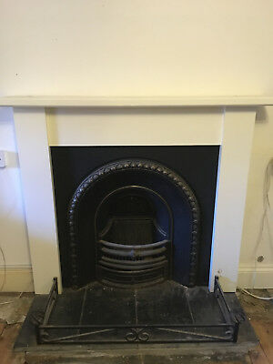 Wrought Iron Victorian Style Fireplace • 400£