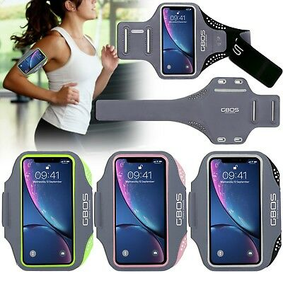 AU19.99 • Buy GBOS® Sport Armband For IPhone X XS Max XR Running Jogging Exercise Workout Case