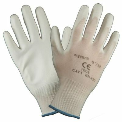 £10.99 • Buy 24 Pairs Painters Decorators Gloves White Safety Work Gloves Protective Gloves