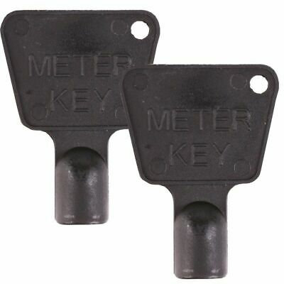 2 X Meter Box Key Triangle Key Electricity Gas Meter • 2.49£
