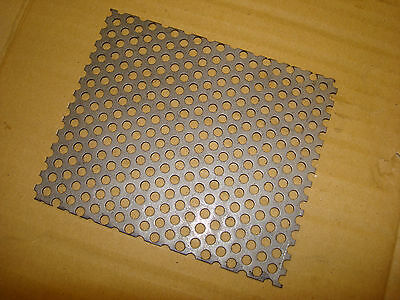 £3.75 • Buy Perforated Steel Plate 1.5mm Thk   5 X 6