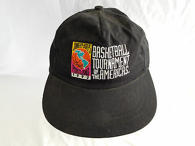 0d22d89edacdb8 Basketball Tournament Of The Americas Cap Hat Snapback 1992 Dream Team USA  AJD • 34.99