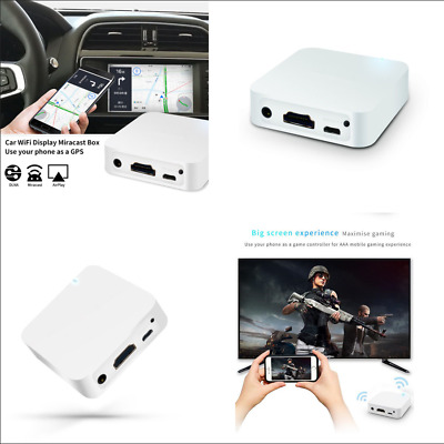 $26.89 • Buy Car Mirror Link Box WiFi Display For Android IOS Phone Navigation Smart Screen