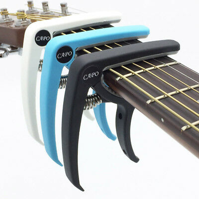 $ CDN4.67 • Buy Guitar Capo Plastic Electric Acoustic Quick Clamp Change Classic String Tuning