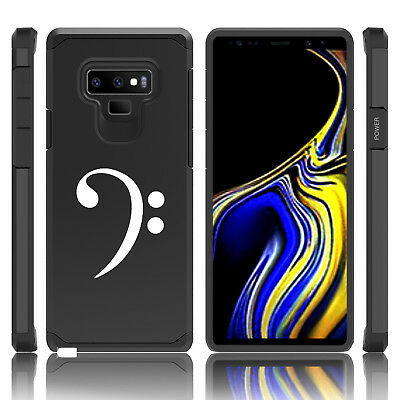 $ CDN19.99 • Buy For Samsung Galaxy Note 8 9 Shockproof Hard Case Cover Bass Clef