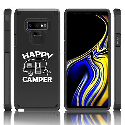 $ CDN19.76 • Buy For Samsung Galaxy Note 8 9 Shockproof Hard Case Cover Happy Camper