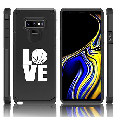 $ CDN19.76 • Buy For Samsung Galaxy Note 8 9 Shockproof Hard Case Cover LOVE Basketball