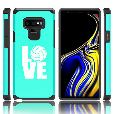 $ CDN19.76 • Buy For Samsung Galaxy Note 8 9 Shockproof Hard Case Cover LOVE Volleyball