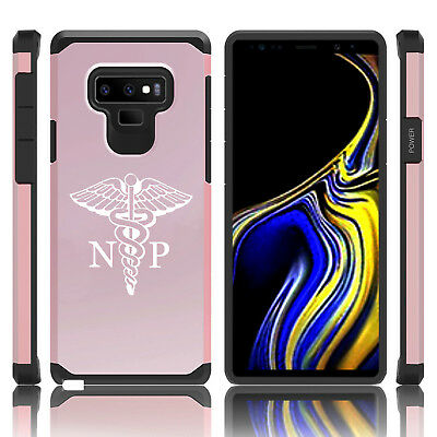 $ CDN19.76 • Buy For Samsung Galaxy Note 8 9 Shockproof Hard Case Cover NP Nurse Practitioner